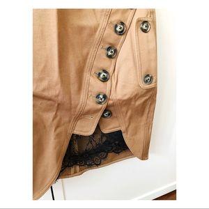 Self-portrait trench mini skirt. Size 6